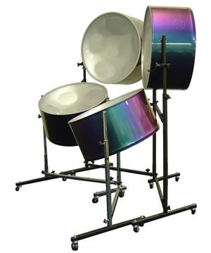 Steel drum musical instrument