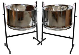 Guitar steel drum