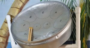 Small steel drum