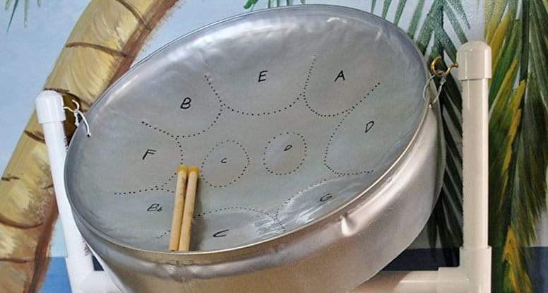 Small steel drum for beginners