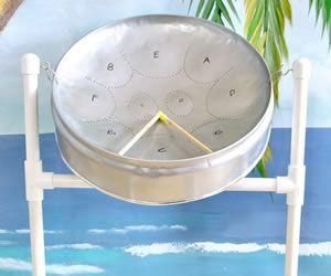 Steel pan drum