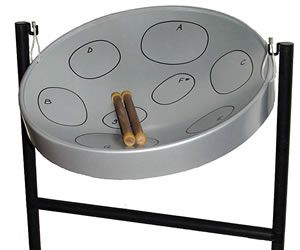 Steel drum instrument