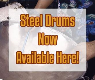 Find steel drums!