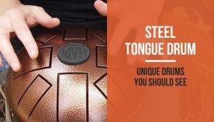Steel tongue drums